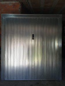 serranda basculante acciaio zincato